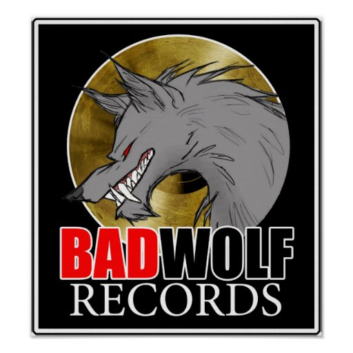 BADWOLF records official merchandise Poster