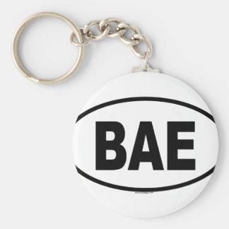 BAE BASIC ROUND BUTTON KEY RING