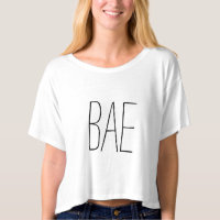 BAE crop top Tee Shirt