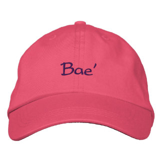 Bae' Embroidered Hat
