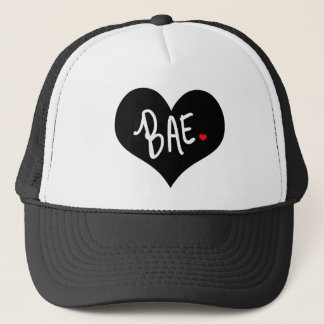 BAE Heart Love by Mini Brothers Trucker Hat