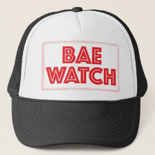 3b5d9c6d Bae watch funny bay watch movie reference trucker hat