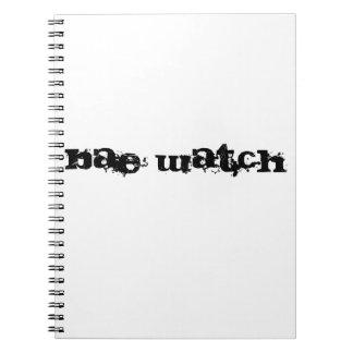 Bae watch spiral notebook