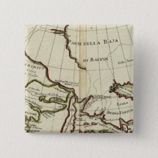 Baffin Bay North Atlantic Ocean 15 Cm Square Badge