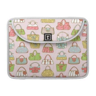 Bag-a-Holic (Pink) Flap Sleeve Sleeve For MacBooks