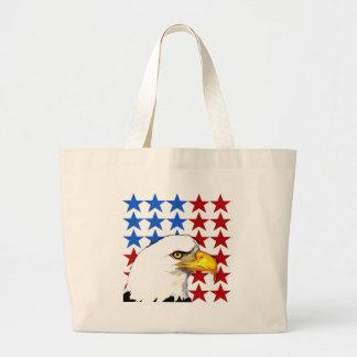 Bag - American Bald Eagle Flag