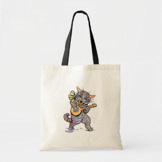Bag: Cat by Louis Wain Budget Tote Bag