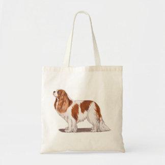 Bag: Cavalier King charles spaniel Budget Tote Bag