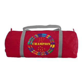 BAG- duffel gym bag-GO Champion graphic design Gym Duffel Bag