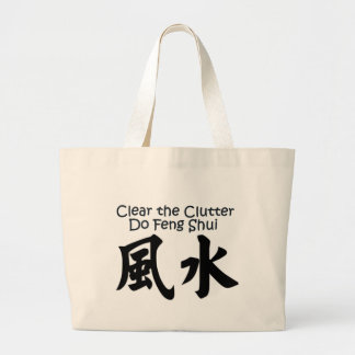 Bag: Feng Shui Jumbo Tote Bag