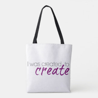 Bag for Creatives and Artists: Creativity Quote Tote Bag
