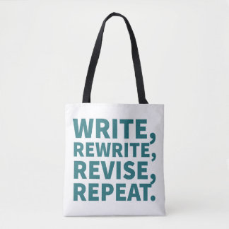 Bag for Writers: Write, Rewrite, Revise, Repeat