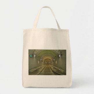 Bag Hamburg of old Elbe tunnels