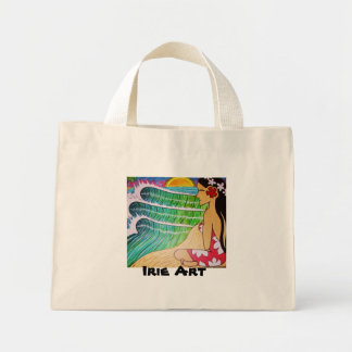Bag- Hinano Girl Sunset Mini Tote Bag