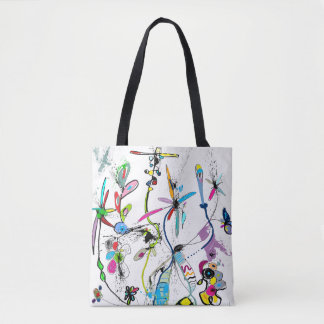 Bag hold-all very printed Alice' S Garden