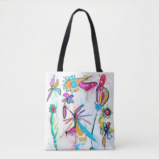 Bag hold-all very printed Alice' S Garden II