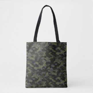 Bag hold-all very printed Green Camouflage