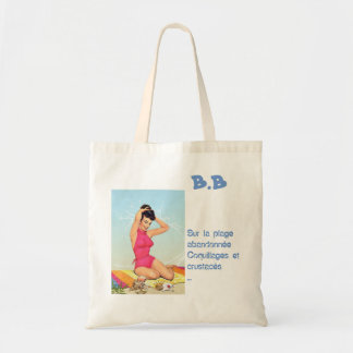 Bag in fabric cotton furnace very Lili-pink