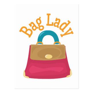 Bag Lady Postcard
