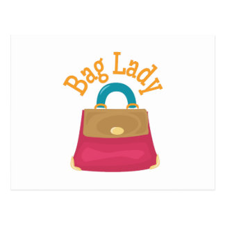 Bag Lady Post Card
