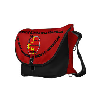 Bag Messenger _ PROTEGER LOS NIÑOS Messenger Bags