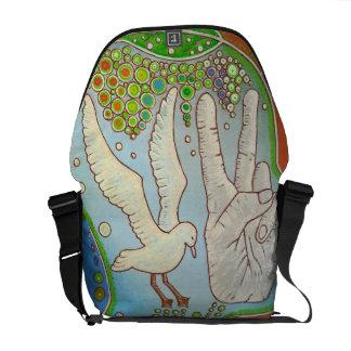 Bag messenger vegan free bird courier bags