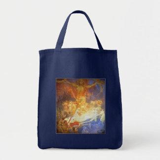 Bag: Mucha - Apotheosis of the Slavs Grocery Tote Bag