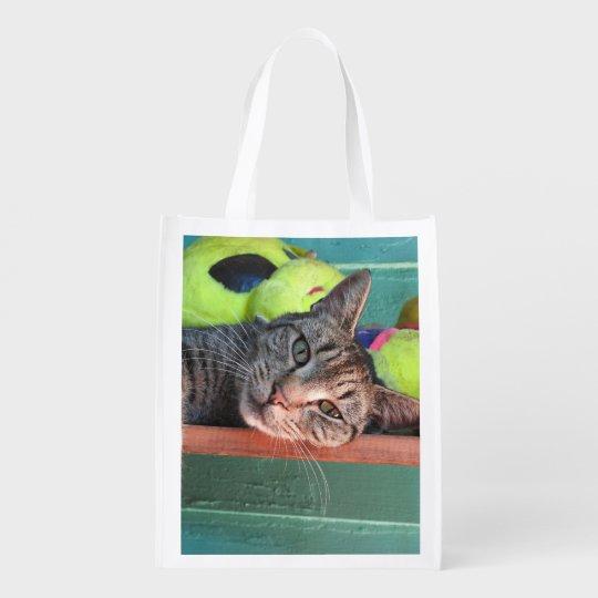 Bag O' Cats Reusable Tote Bag