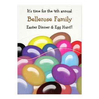 Bag of Jelly Beans Easter Egg Hunt Invitation