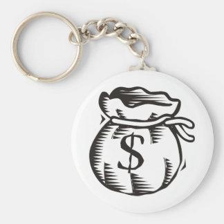 Bag of Money Key Ring