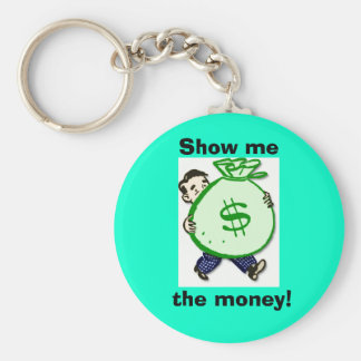 bag_of_money, Show me, the money! Key Ring