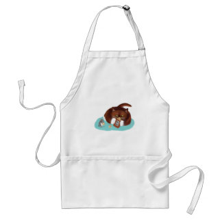 Bag of Popcorn for Mouse and Kitten Standard Apron