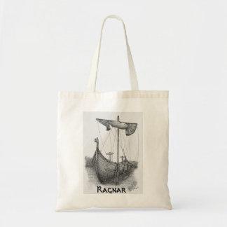 Bag Prints Boat Viking Ragnar