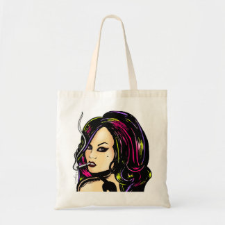 Bag: Punk Girl Tote Bag