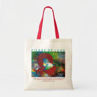 "Bag red Budget handle ""moon stone """