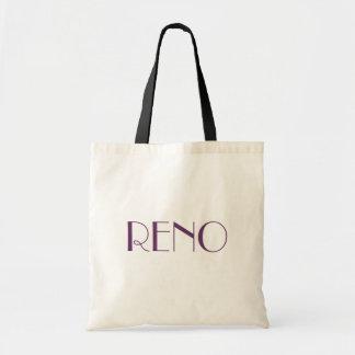 Bag RENO Nevada Travel bag tote NV biggest little