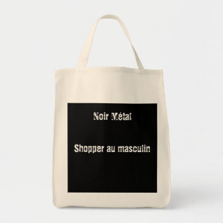 Bag shopper Black Metal