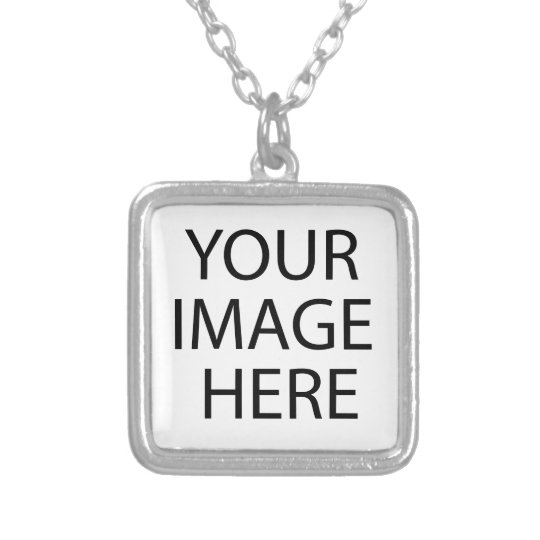 bag silver plated necklace