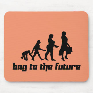 Bag to the Future Mouse Pad