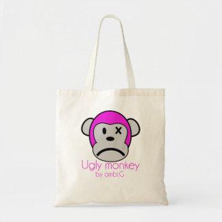 bag ugly monkey design by ambi. G