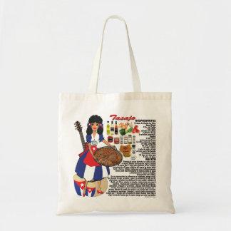 Bag w/recipe-Cuba-Tasajo-Spanish