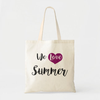 "Bag, ""We love Summer "" Tote Bag"