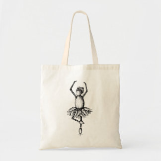 Bag with ballerina