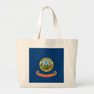Bag with Flag of  Idaho State - USA