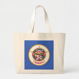 Bag with Flag of Minnesota State - USA