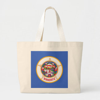 Bag with Flag of Minnesota State - USA