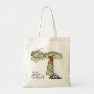 Bag with Kate Greenaway Vintage Image