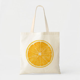 Bag with orange slice