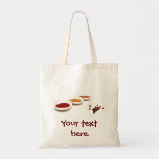 Bag with spices photo