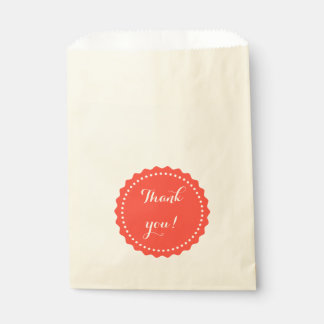 Bag with text: Thank you!